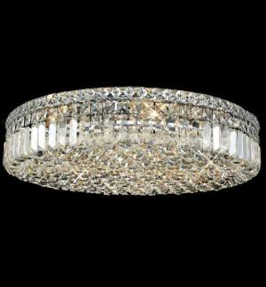Large crystal ceiling chandelier